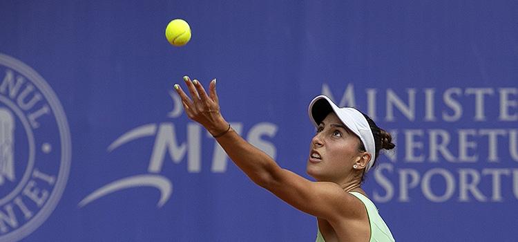 Imagini de la meciul Cristina Dinu - Shilin Xu 3-6, 3-6 din turul 2 al calificărilor
