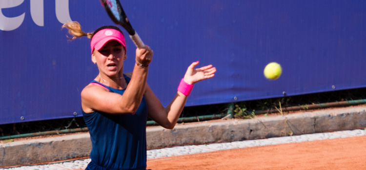 Imagini de la meciul Irina Maria Bara - Jaimee Fourlis