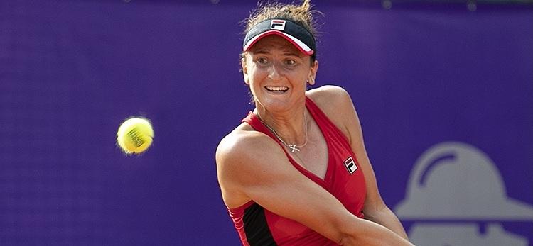 Imagini de la meciul Irina-Camelia Begu - Aleksandra Krunić din turul 1