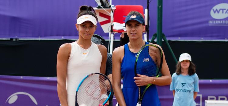 Imagini de la meciul Jaqueline Adina Cristian - Sorana Mihaela Cirstea