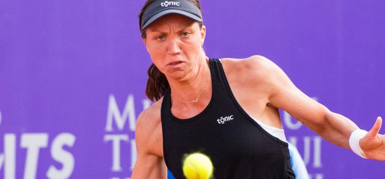 Imagini de la meciul Patricia Maria Tig - Kristýna Plíšková din sferturi de vineri