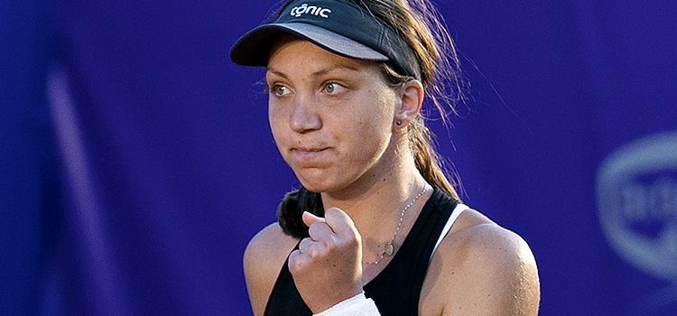 Imagini de la meciul Patricia Tig - Kristýna Plíšková 6-3, 3-6, 6-3 din sferturi