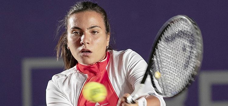 Imagini de la meciul Elena Gabriela Ruse - Barbora Krejčíková din turul 1