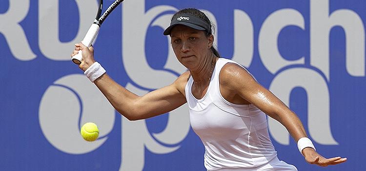 Imagini de la meciul Patricia Maria Ţig - Isabella Shinikova din turul 3 al calificărilor