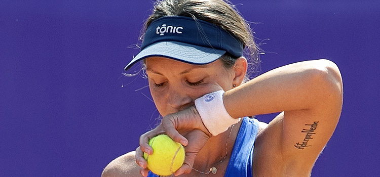 Imagini de la meciul Patricia Maria Ţig - Anastasija Sevastova 2-6,5-7 din turul 2
