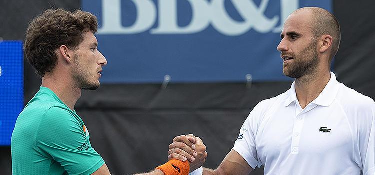 Alte imagini de la meciul Copil - Carreno-Busta, în turul 2 la Winston-Salem Open