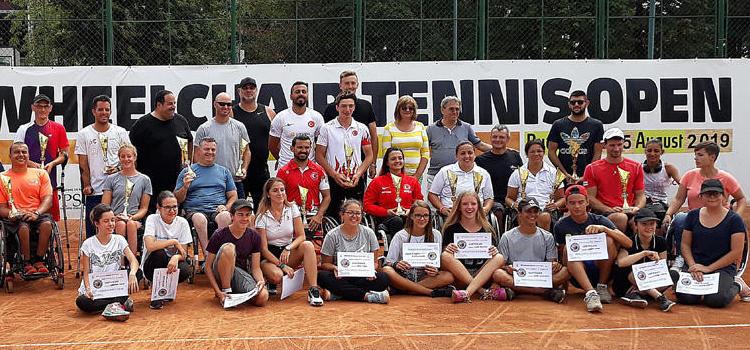 """BRD Bucharest Wheelchair Tennis"" şi-a desemnat campionii"