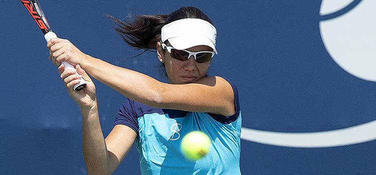 Imagini de la antrenamentul Ralucăi-Ioana Olaru la Rogers Cup - Toronto