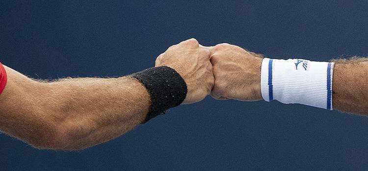 Alte imagini de la meciul Tecau, Rojer - Murray, Lopez de la Cincinnati